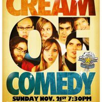 Tim Sims Cream of Comedy Poster