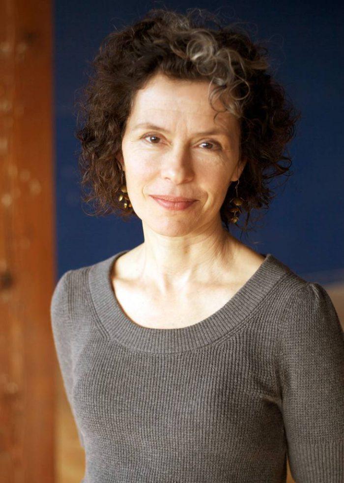 Corporate portrait of a woman taken on site.