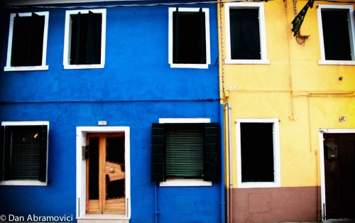 Venice Colourful Houses 1b