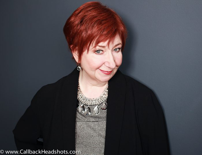 Professional headshot of Luba Goy from the Royal Canadian Air Farce.