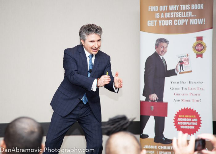 Promotional portrait of one of the best motivational speakers.