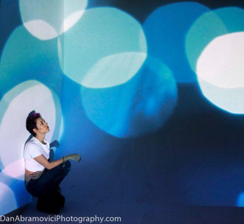 Artistic portrait used for album cover art.