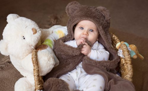 Baby Dressed As Bear
