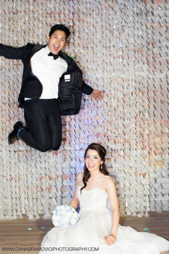 A fun and professional photographer makes for the best wedding photos.